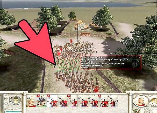 Prent getiteld Wees groot in Rome Totale Oorlog Stap 9