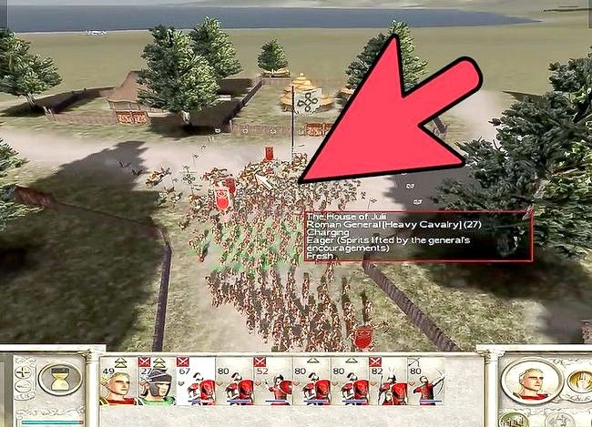 Prent getiteld Wees groot in Rome Total War Step 10