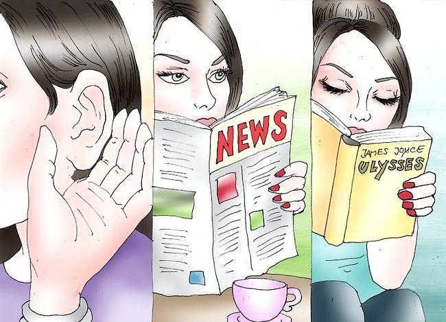 Hoe om oninteressant te wees