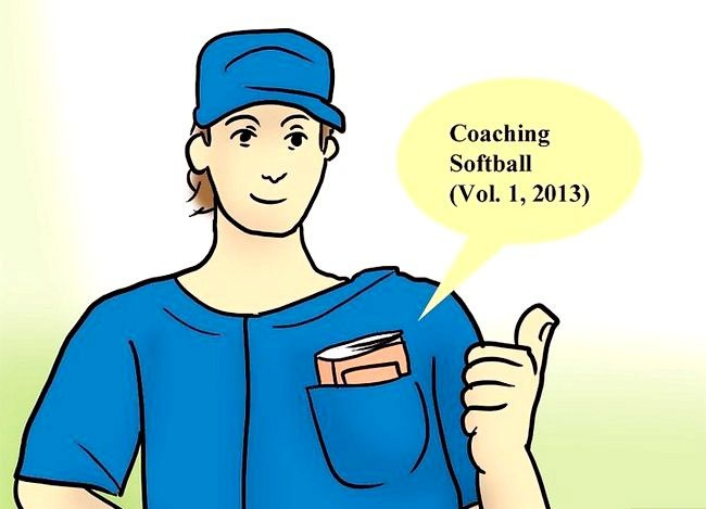 Prent getiteld Coach Softball Stap 2