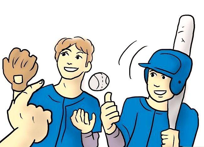 Prent getiteld Coach Softball Stap 6