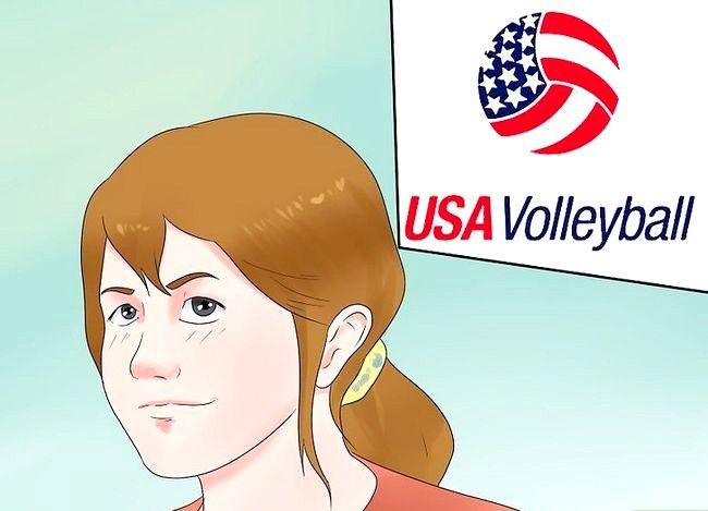 Beeld getiteld Volleyball Coach Stap 16