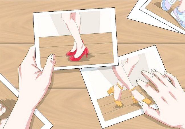 Prent getiteld Wees `n voetmodel Stap 2