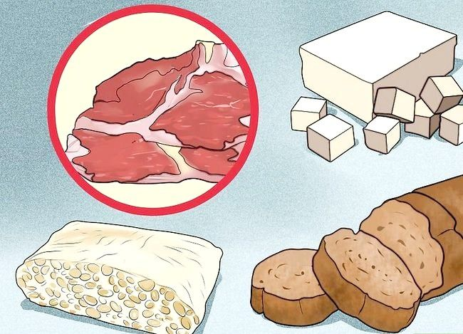 Prent getiteld `n Lacto Ovo Vegetariese Stap 15 wees