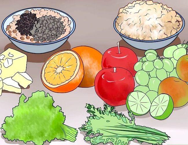 Prent getiteld `n Lacto Ovo Vegetariese Stap 5 wees
