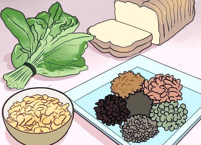 Prent getiteld `n Lacto Ovo Vegetariese Stap 8 wees
