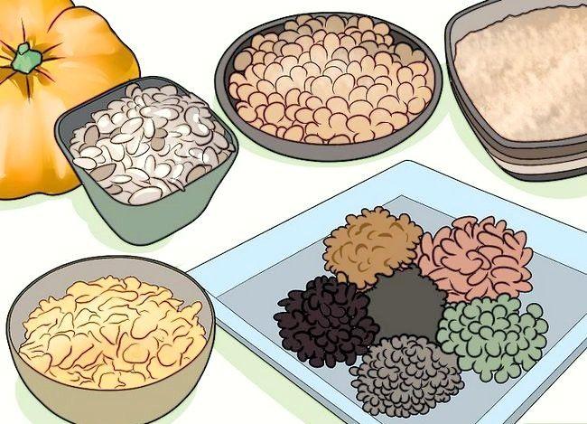 Prent getiteld `n Lacto Ovo Vegetariese Stap 9 wees