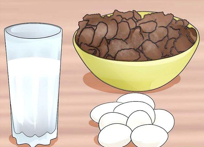 Prent getiteld `n Lacto Ovo Vegetariese Stap 10 wees