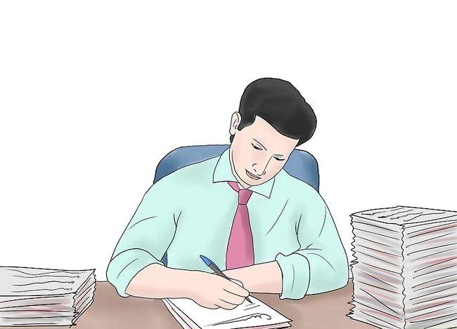 Prent getiteld Wees professioneel by die werk Stap 2
