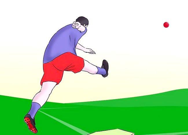 Prent getiteld Wees `n geweldige Kickball Player Stap 3