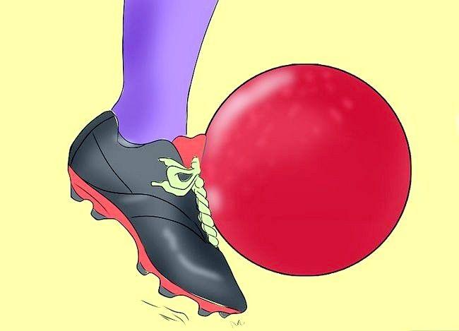 Prent getiteld Wees `n geweldige Kickball Player Stap 6