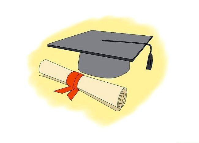 Prent getiteld `n Spesiale Onderwys Onderwyser in Kalifornië Stap 3