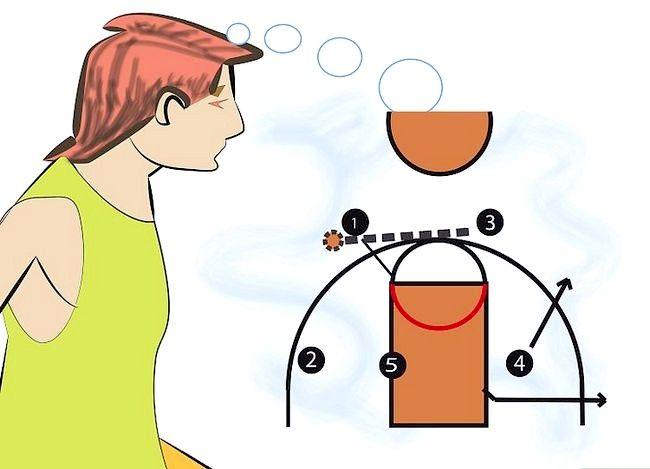 Prent getiteld Word `n Beter Aanstootlike Basketbalspeler Stap 1