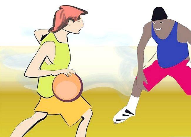 Prent getiteld Word `n Beter Aanstootlike Basketbalspeler Stap 2