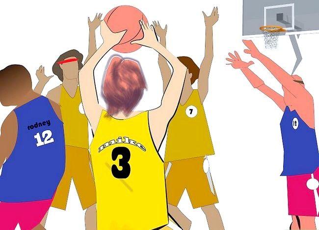 Prent getiteld Word `n Beter Aanstootlike Basketbalspeler Stap 3