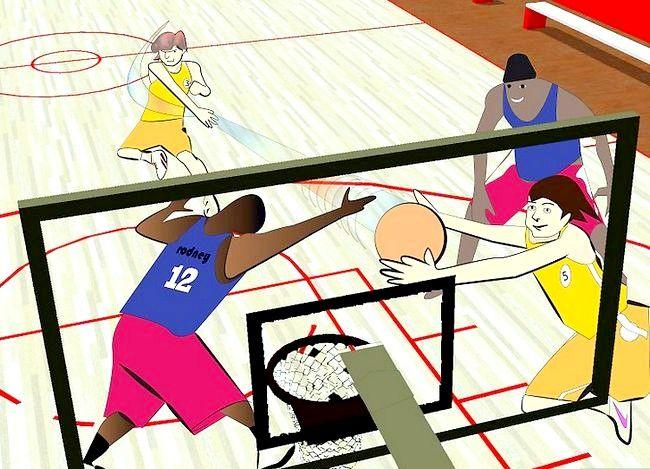 Prent getiteld Word `n Beter Aanstootlike Basketbalspeler Stap 5