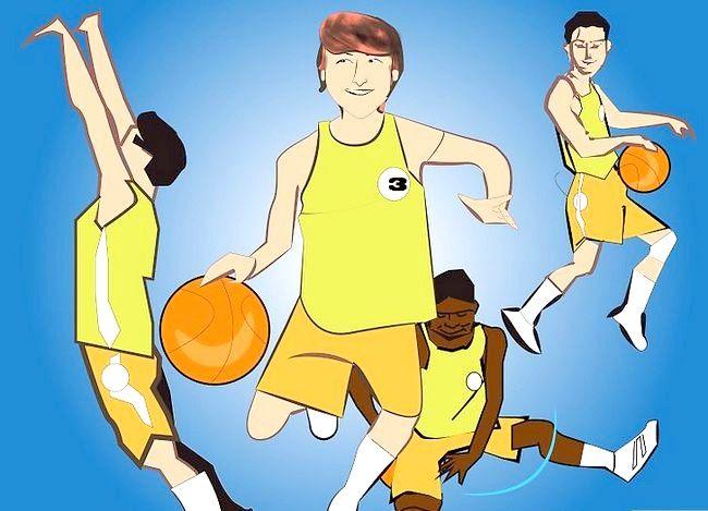 Prent getiteld Word `n Beter Aanstootlike Basketbalspeler Stap 7