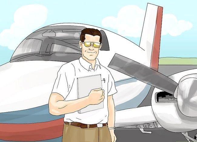 Prent getiteld Word `n Airline Pilot Stap 2