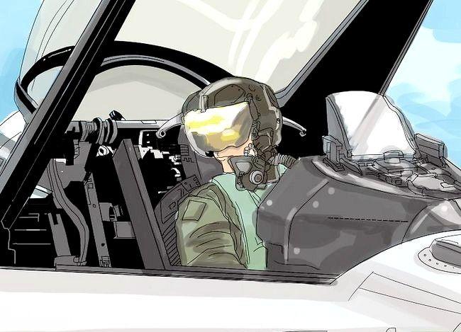 Prent getiteld `n Airline Pilot Stap 8 word