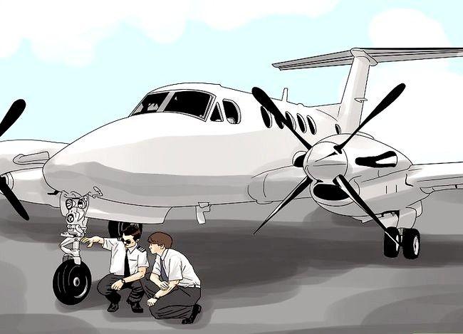 Prent getiteld Word `n Airline Pilot Stap 9