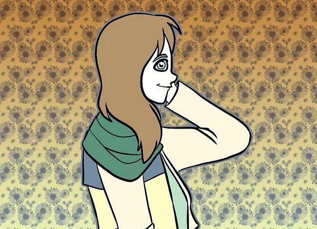 Prent getiteld `n Mori Girl (Forest Girl) Stap 9