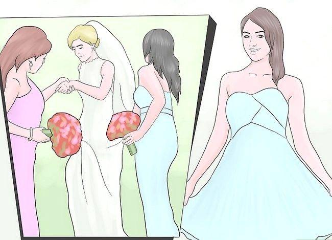 Prent getiteld `n Bruidsmeisie Stap 2