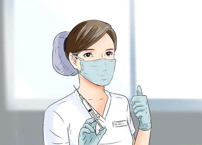 Prent getiteld `n Verpleegster Stap 19