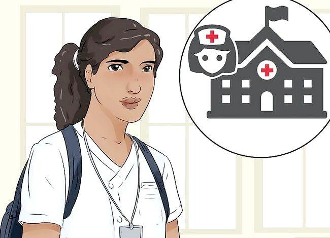 Prent getiteld `n Verpleegster Stap 9