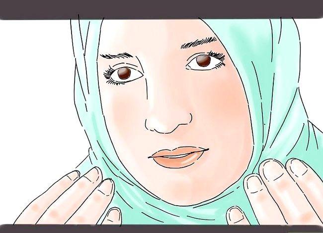 Prent getiteld `n Suksesvolle Moslem vrou Stap 2