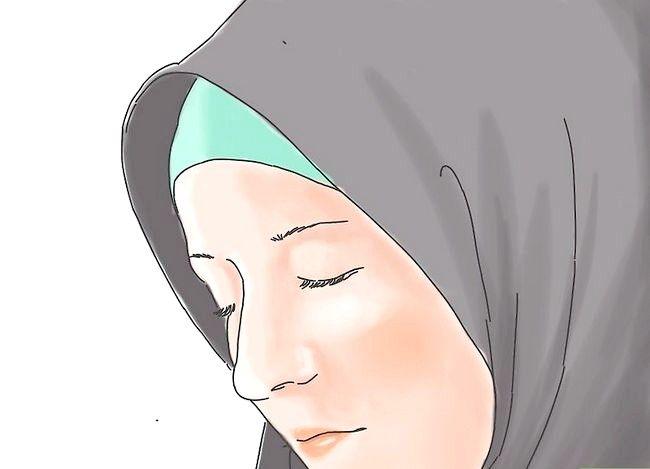 Prent getiteld `n Suksesvolle Moslem vrou Stap 6