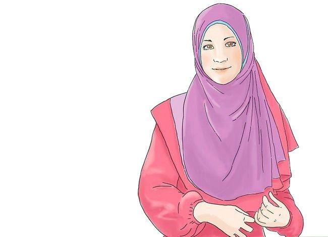 Prent getiteld `n Suksesvolle Moslemvrou Stap 9