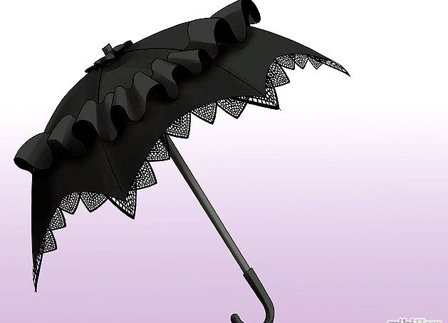 Prent getiteld `n Gotiese Lolita Stap 3 Punt 8