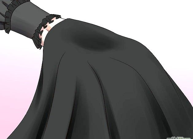 Prent getiteld `n Gotiese Lolita Stap 4 Punt 1