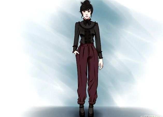 Prent getiteld `n Gotiese Lolita Stap 7