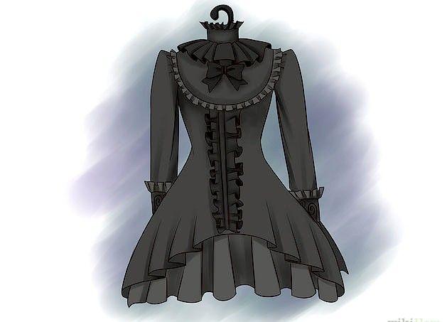 Prent getiteld `n Gotiese Lolita Stap 3 Stap 2