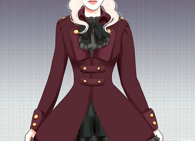 Prent getiteld `n Gotiese Lolita Stap 3 Punt 7