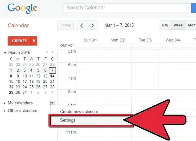 Prent getiteld Synchroniseer Google Kalender met Outlook Stap 2