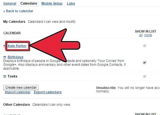 Prent getiteld Synchroniseer Google Kalender met Outlook Stap 3