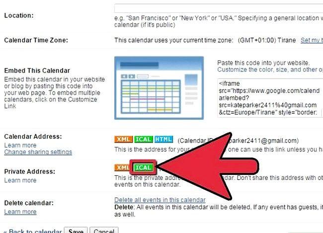 Prent getiteld Synchroniseer Google Kalender met Outlook Stap 4