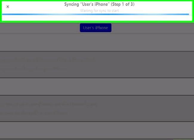 Prent getiteld Synchroniseer Outlook Kalender met iPhone Stap 7