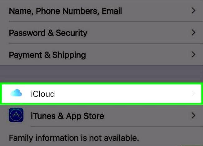 Prent getiteld Synchroniseer Outlook Kalender met iPhone Stap 10