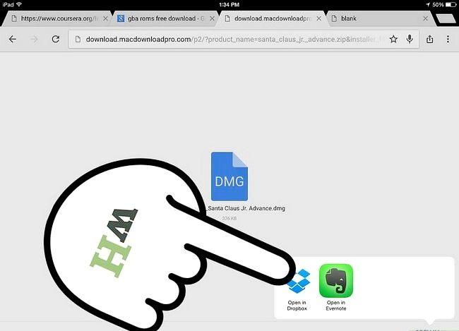 Prent getiteld Sync GBA4iOS met Dropbox Stap 10