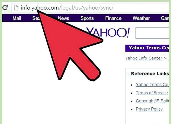 Prent getiteld Outlook-data synchroniseer met Yahoo Stap 11