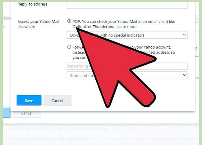 Prent getiteld Outlook-data synchroniseer met Yahoo Stap 3