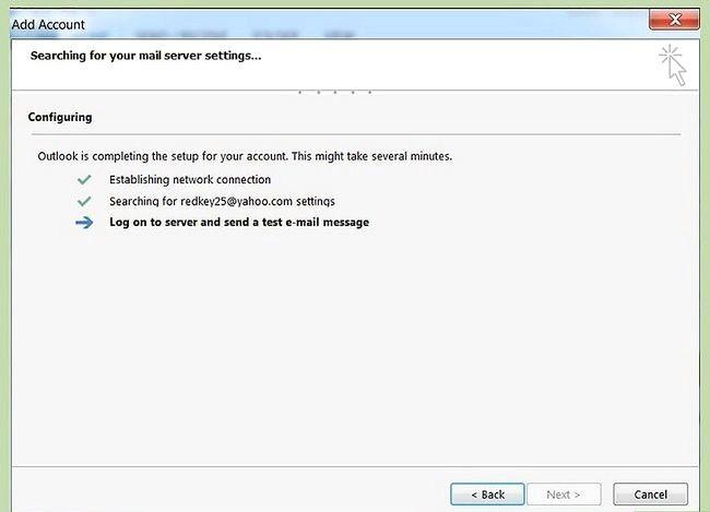 Prent getiteld Outlook-data synchroniseer met Yahoo Stap 8