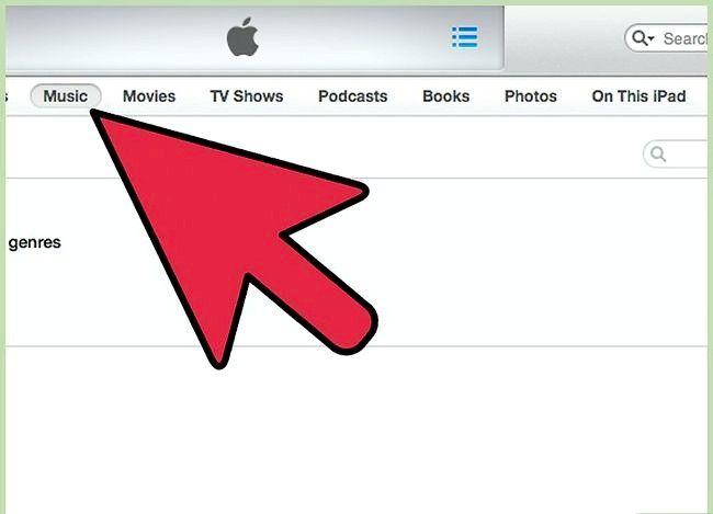 Prent getiteld Sync Music na `n iPad Stap 2