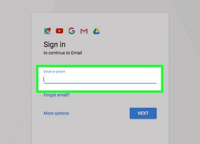 Prent getiteld Sync Outlook Met Gmail Stap 2