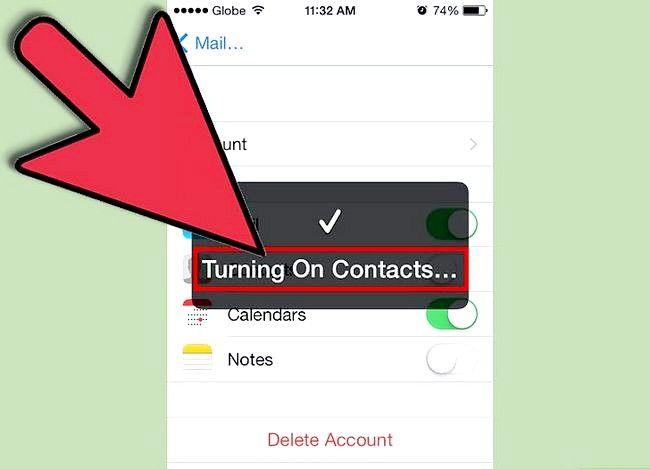 Prent getiteld Synchroniseer jou iPhone met Microsoft Exchange Stap 10