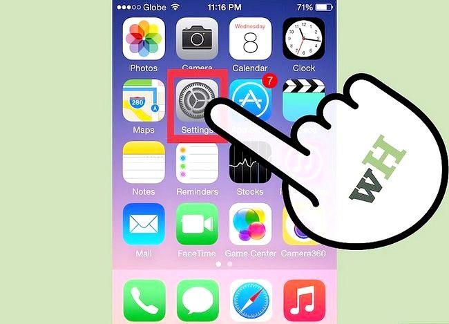 Prent getiteld `n Hotmail-rekening op `n iPhone Stap 1 Sinkroniseer