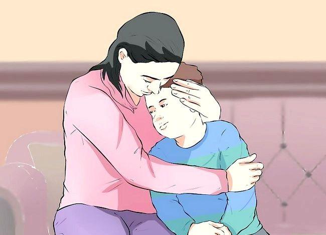 Prentjie getiteld Cope wanneer jou kind met Kanker gediagnoseer word Stap 4